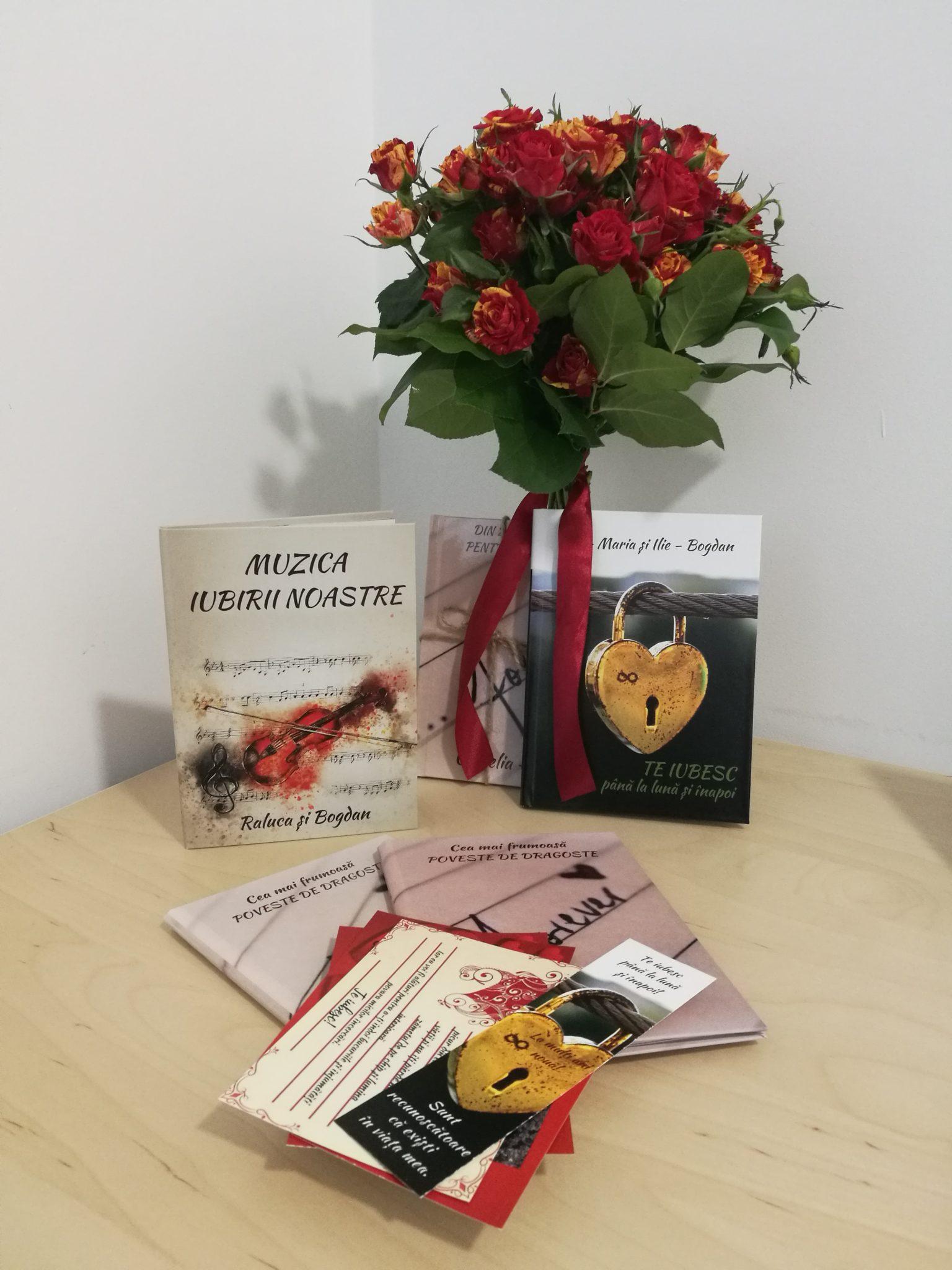 Carti - cadou personalizate  pentru iubiti